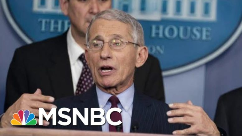 Dr. Fauci Says Cases Need To Drop By At Least 30k For Safe Flu Season | Morning Joe | MSNBC 1