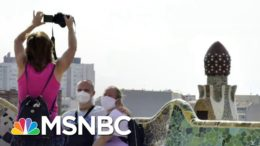 Europe Sees Coronavirus Cases Rise In Spain, France | Andrea Mitchell | MSNBC 7