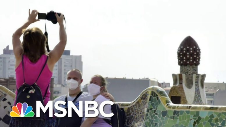 Europe Sees Coronavirus Cases Rise In Spain, France | Andrea Mitchell | MSNBC 1
