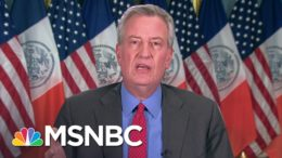 De Blasio Responds To Trump's NYC Defunding Threat: It's Just Blatantly Unconstitutional | MSNBC 5