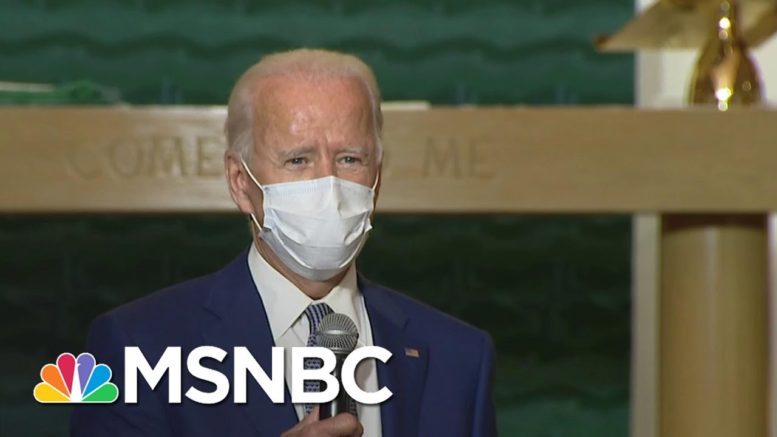 Jacob Blake Spoke To Biden From His Hospital Bed, Says Family Attorney | MSNBC 1