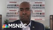 SC Democratic Senate Candidate Jaime Harrison: 'Voting Twice Is Illegal' | Andrea Mitchell | MSNBC 3