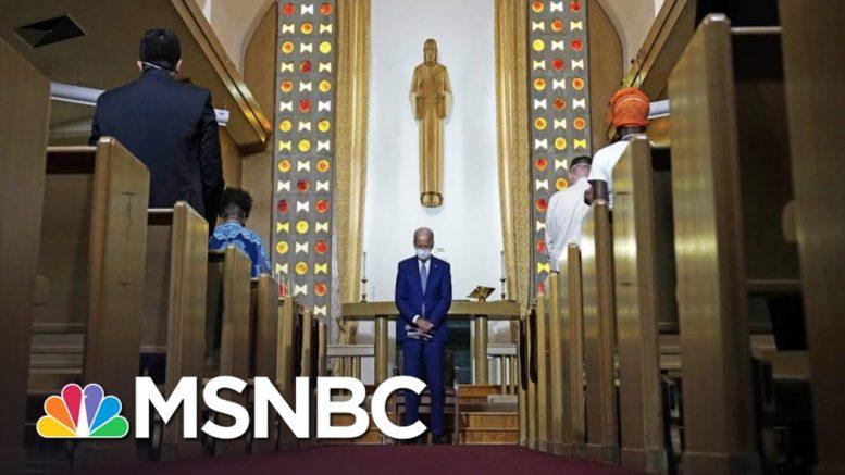 Joe Biden Visits Kenosha As More Polls Show Trump Trailing In Key States | The 11th Hour | MSNBC 1