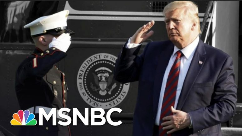 Trump Calls Reports He Denigrated U.S. Military Dead 'Made Up' | The 11th Hour | MSNBC 1