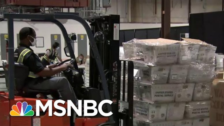 North Carolina Becomes First State To Mail Election Ballots | Hallie Jackson | MSNBC 1