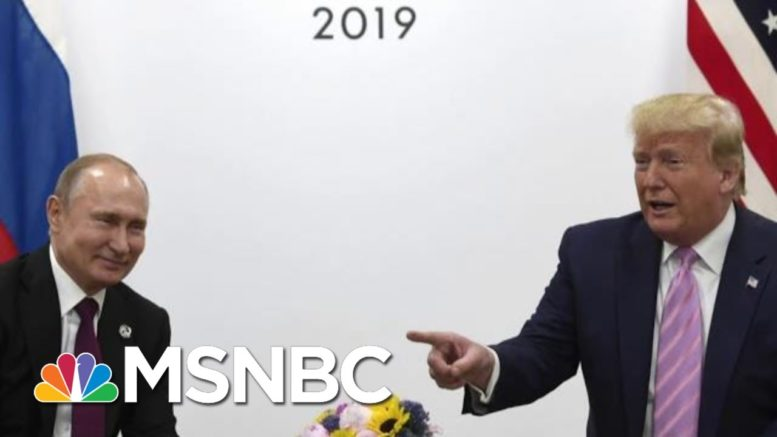 ''Agents Of Chaos' Doc Examines Russian Election Interference | Morning Joe | MSNBC 1