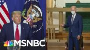 Comparing Biden And Trump On 2020 Campaign Trail | MSNBC 5