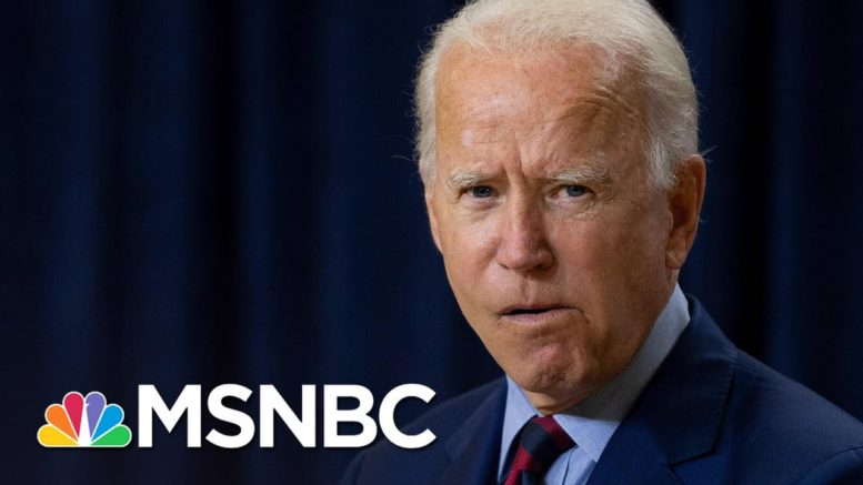 Biden Calls Trump's Reported Comments About U.S. Service Members 'Disgusting' | MSNBC 1