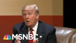 Trump 'Is A Man Of Many Fears': Former Military Leaders React To The Atlantic's Reporting | MSNBC 1