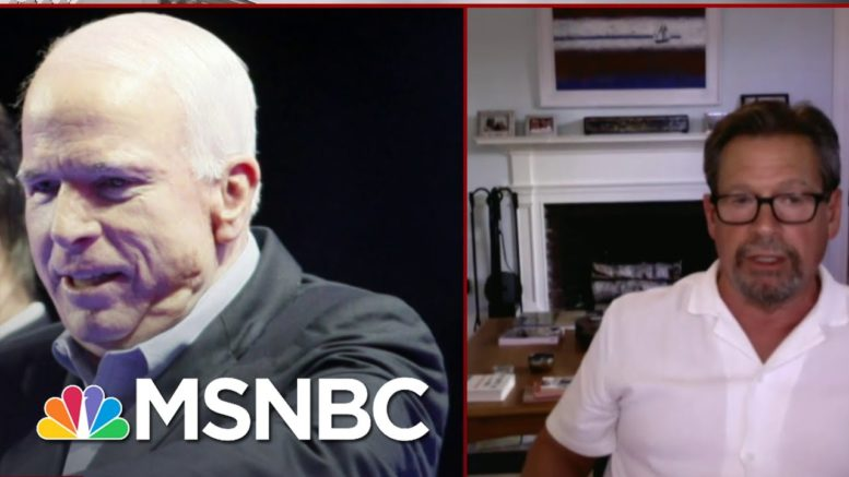 Mark Salter Says 'Even The Memory Of John Pushes All The Insecurity Buttons That Trump Has' | MSNBC 1