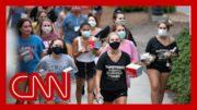 At least 17 states report coronavirus cases at colleges 4