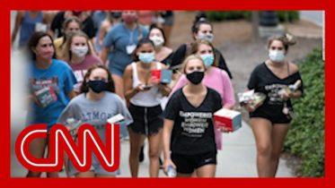 At least 17 states report coronavirus cases at colleges 6