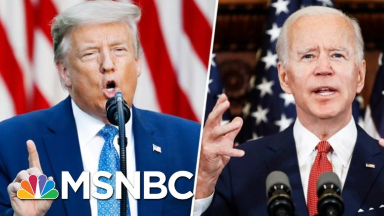 Trump Fails To Pin Biden With Effective Nickname As He Trails In New 2020 Polls | MSNBC 1