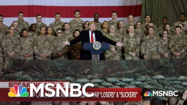 Trump's Reported Remarks About Veterans, War Dead Continues To Rankle Among Military | MSNBC 6