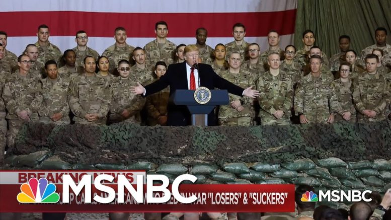 Trump's Reported Remarks About Veterans, War Dead Continues To Rankle Among Military   MSNBC 1