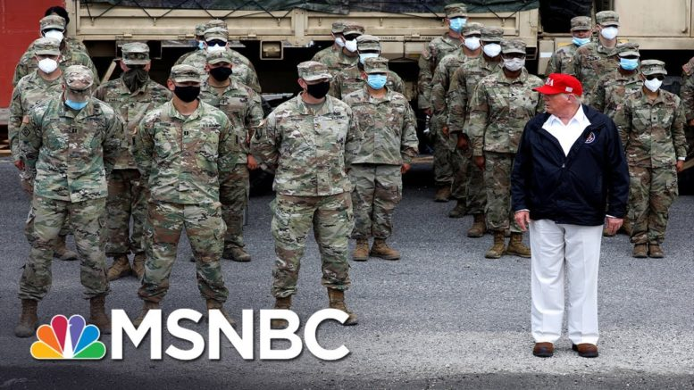 Velshi: Trump Has A History Of Disrespecting The Military | MSNBC 1