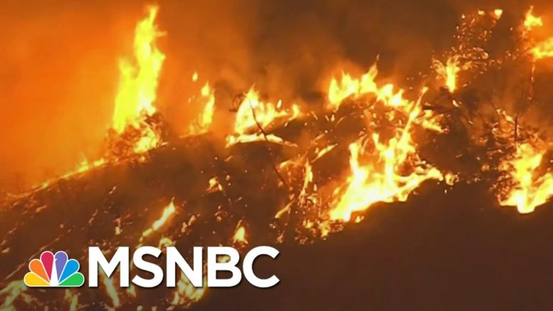 Officials: Gender Reveal Pyrotechnic Sparked California Wildfire | MSNBC 1