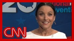 Julia Louis-Dreyfus jokes about 'Kamala' name controversy at DNC 3