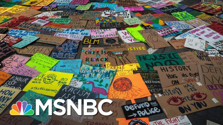Study: 93% Of Protests In The U.S. This Summer Were Peaceful | All In | MSNBC 1