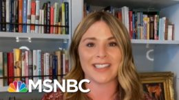 Jenna Bush Hager Discusses New Book And Pandemic Back To School | Andrea Mitchell | MSNBC 8