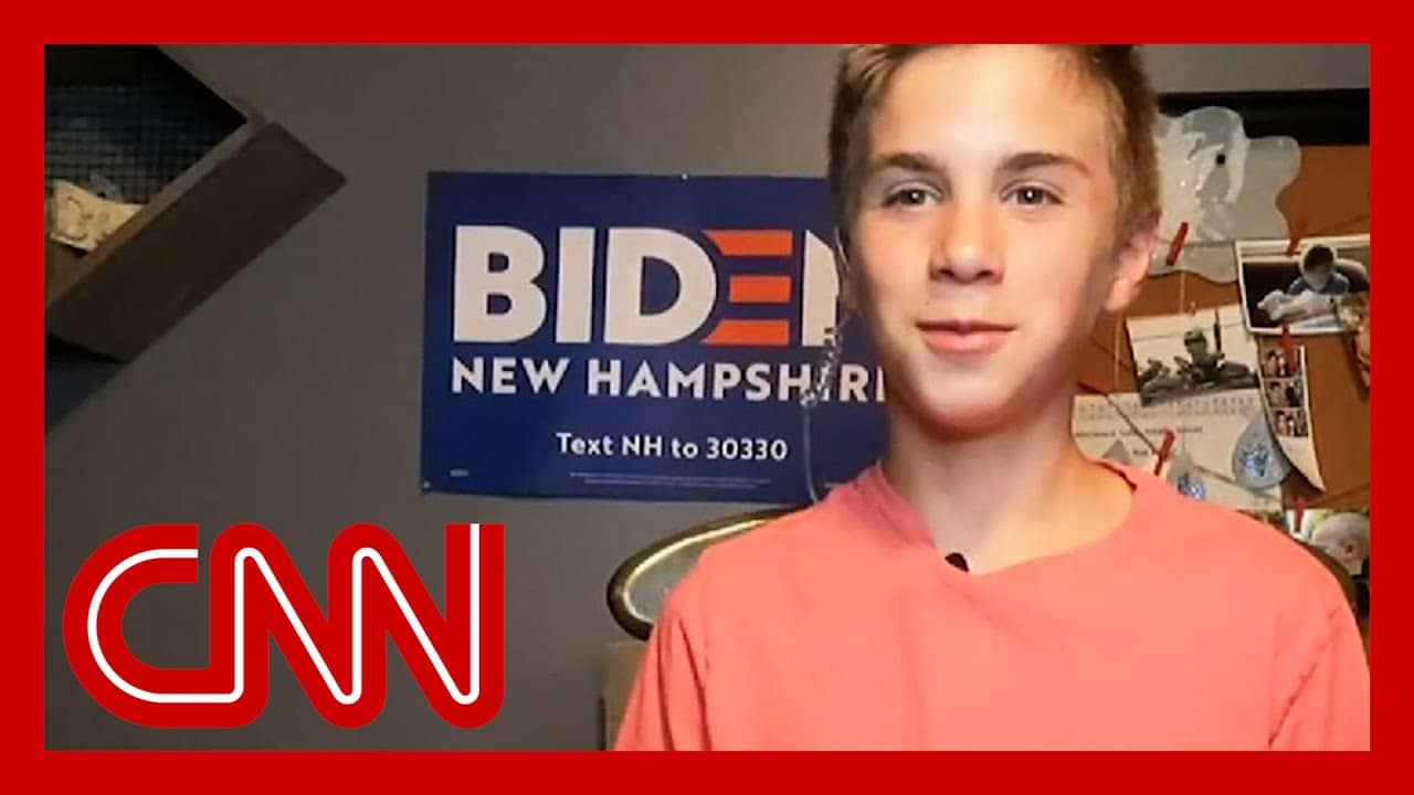 Teen shares how Joe Biden helped him with his stutter 1