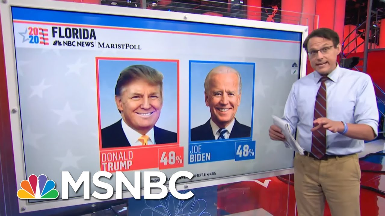 Biden Lagging With Latino Voters In Florida, Leading With Senior Voters | MSNBC 1