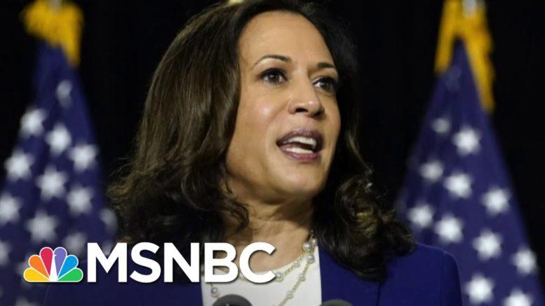 Trump Mocks Kamala Harris's Name, Says 'Nobody Likes Her' | The 11th Hour | MSNBC 1
