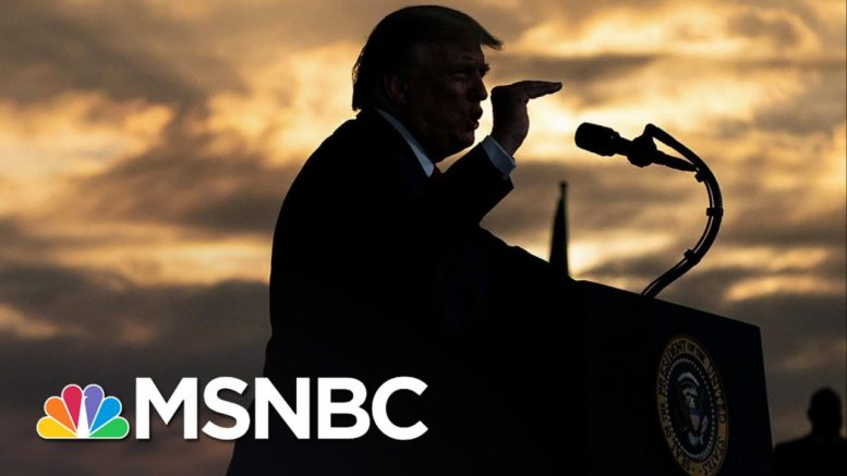 Robinson: Trump's 2020 Message Is 'Undisguised White Supremacy' | The 11th Hour | MSNBC 1