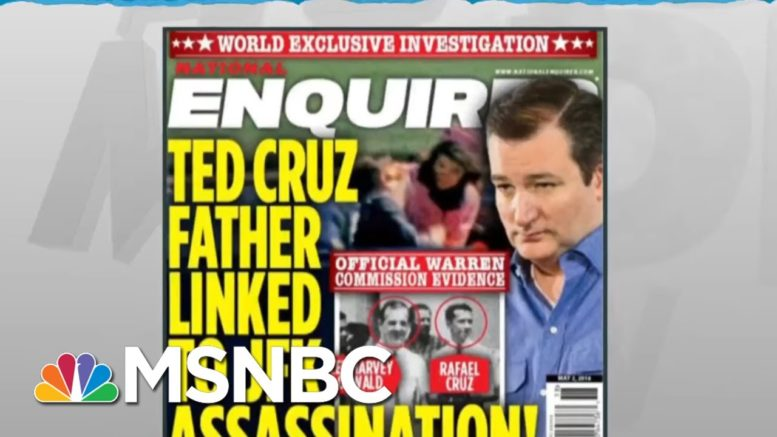 Cohen: Trump Consulted On National Enquirer Stories To Smear His Political Opponents | MSNBC 1