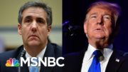 Cohen: 'I Was Acting At The Direction Of And For The Benefit Of Mr. Trump… To Protect Him' | MSNBC 3