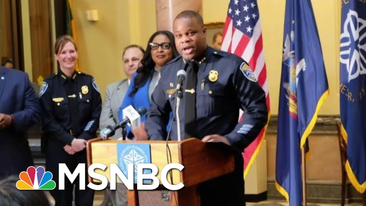 Rochester Police Chief, Entire Command Staff Step Down | Morning Joe | MSNBC 8