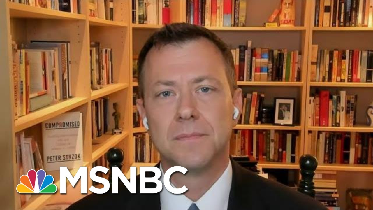Strzok: Trump's Financial Involvement With Russia Is Very Broad   Morning Joe   MSNBC 7