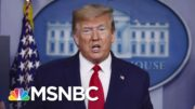 Trump Tells Bob Woodward He Intentionally Downplayed Severity Of COVID-19 | Andrea Mitchell | MSNBC 2