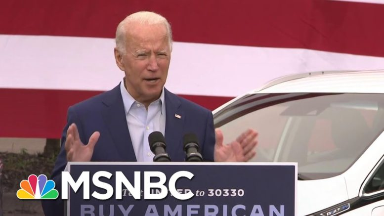 Biden: Trump Playing Down Impact Of Coronavirus Is A 'Dereliction Of Duty' | MSNBC 1