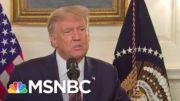 'We Want To Show Strength': Trump Responds To Report That He Downplayed Coronavirus Threat | MSNBC 3