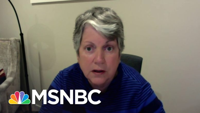 Janet Napolitano: President Trump 'Totally Underestimates The American People' | Katy Tur | MSNBC 1