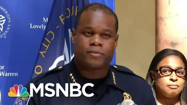 Trump's Police Defense Falters As Videos Shred Misleading Arrest Reports | MSNBC 1