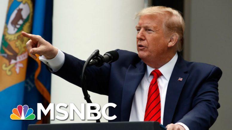 Trump Intentionally Misled The Public On Coronavirus | Morning Joe | MSNBC 1