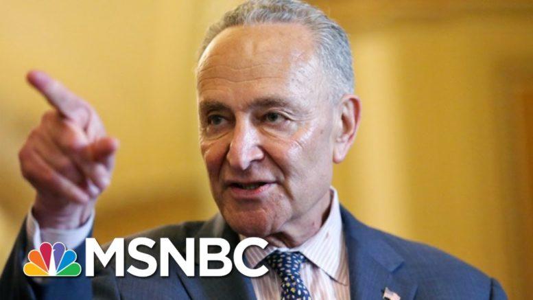 Sen. Schumer To GOP Colleagues: Where Are You? | Morning Joe | MSNBC 1