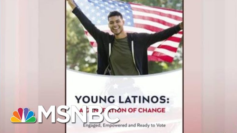 Where Young Latino Voters Stand On The Issues | Morning Joe | MSNBC 1
