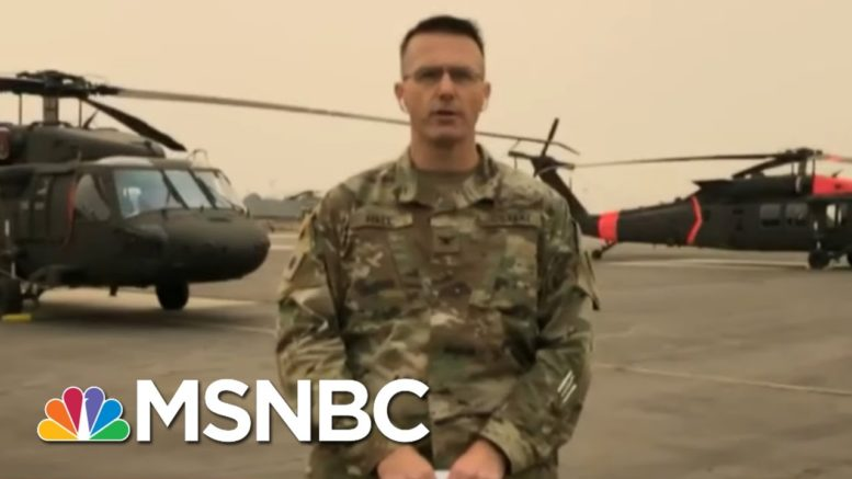 National Guard Colonel: We've Been Primarily Focused On A Search & Rescue   Andrea Mitchell   MSNBC 1