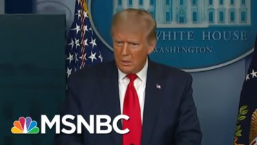 Trump Claims He 'Didn't Lie' By Playing Down Coronavirus Threat | MSNBC 6