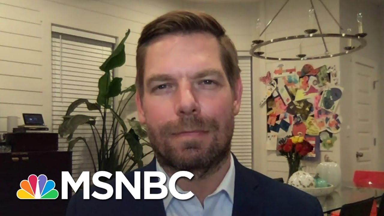 Rep. Swalwell: Trump Has A 'Compromised Relationship' With Russia   The Last Word   MSNBC 8