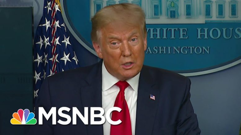 How Trump's Rhetoric Is 'Normalizing Overt Expressions Of Racism' | The Last Word | MSNBC 1