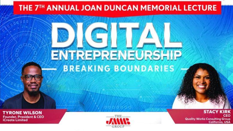 7th Annual Joan Duncan Memorial Lecture | Digital Entrepreneurship @3PM-4PM 1