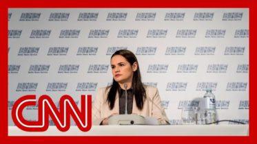 CNN's Amanpour interviews Svetlana Tikhanovskaya: How a stay-at-home mom became an opposition leader 6