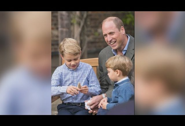 Sir David Attenborough gave a giant shark tooth to Prince George in their first meeting. 1