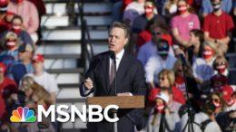 Georgia's Perdue Mocks Name Of His Own Senate Colleague, Kamala Harris | Rachel Maddow | MSNBC 3