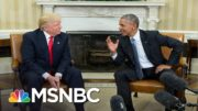 Memo to Trump: 'You Have Always Been Absolutely Terrified Of Your Predecessor' | MSNBC 5