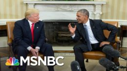 Memo to Trump: 'You Have Always Been Absolutely Terrified Of Your Predecessor' | MSNBC 4